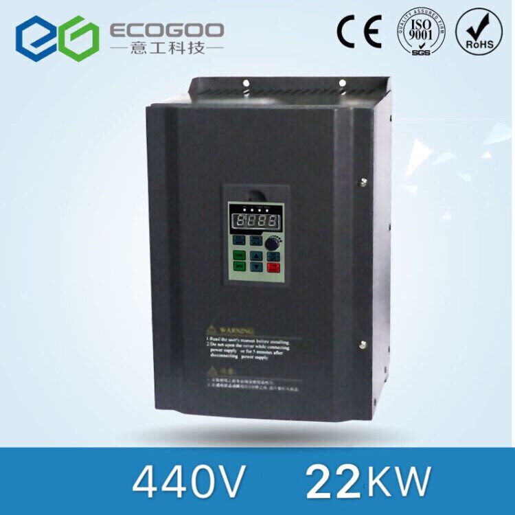 22kw 440V Three Phase Low Power Frequency Converter for Air Compressor 440v 18 5kw three phase frequency inverter with high performance for air compressor