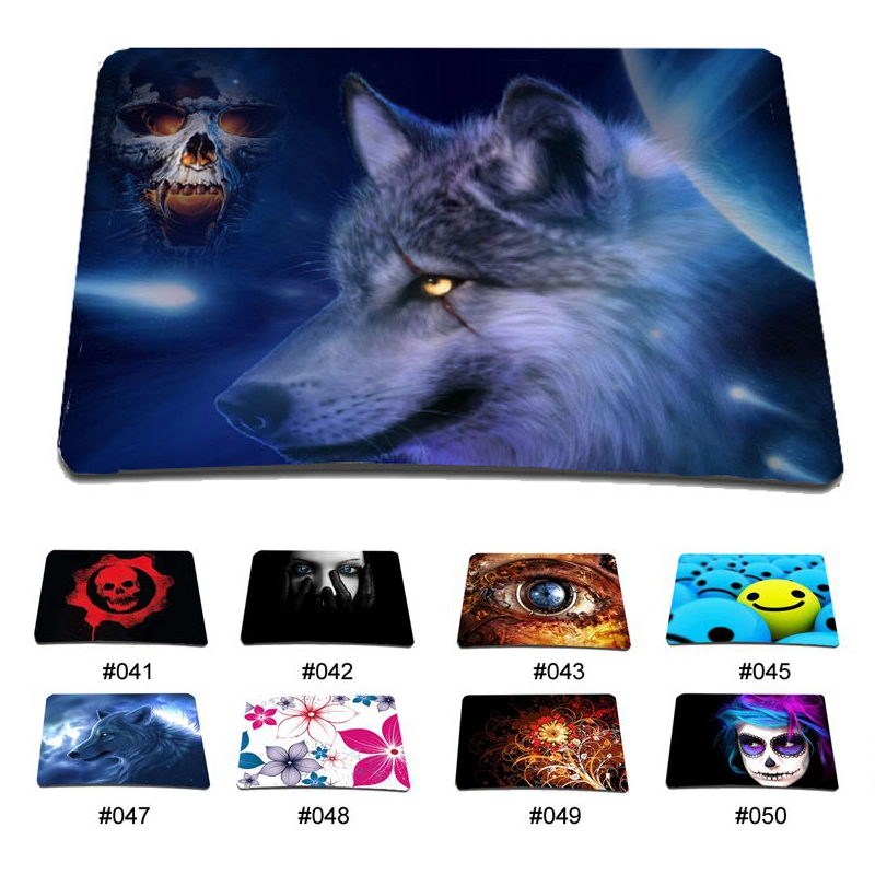 New Arrival Mens Boys Gaming Mouse Pad Mat For Trackball Mouse Viviration Popular Fashion Soft Rubber Computer PC Mouse Pad Mat