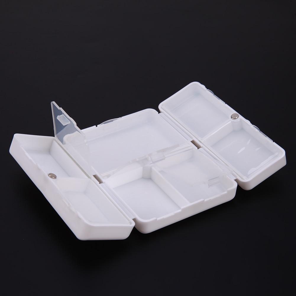 7 Days Mini Portable Pill Box Plastic Medicine Case Reminder For Healthy Care Empty Drug Box