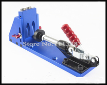 цена на Kreg Woodworking Tool Pocket Hole Jig Woodwork Guide Repair Carpenter Kit System With Toggle Clamp and Step Drilling Bit