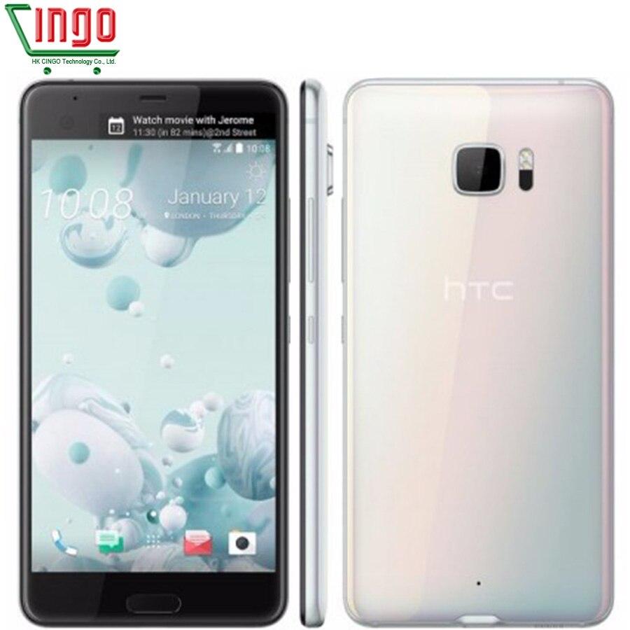 2017 Original HTC U Ultra DualView Dual band WiFi 3 Cameras Android 7 0 4GB RAM