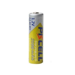 Image 3 - 8 Pçs/lote 2A Baterias PKCELL AA NI MH 2000mAh 1.2V Bateria Recarregável AA Bateria Baterias AA NIMH pilhas para lanterna