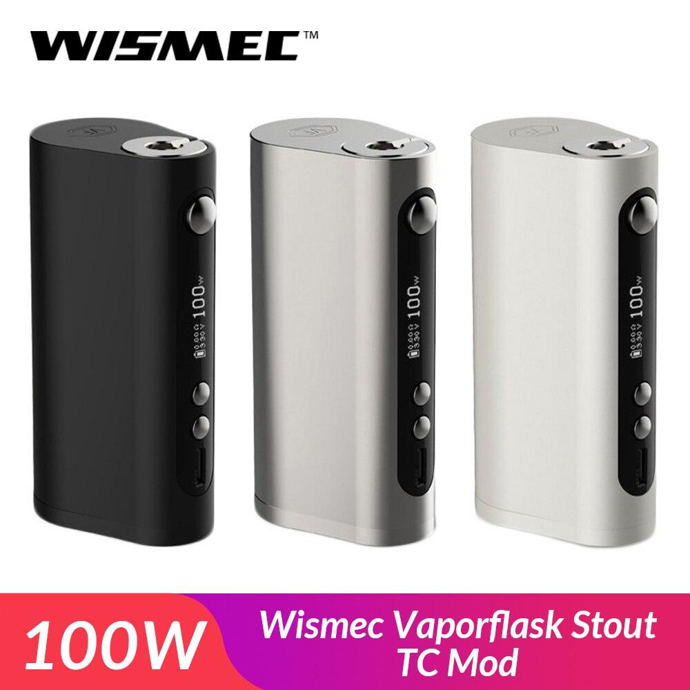 Original Wismec Vaporflask Stout TC Mod 100W TC/VW/Bypass Vape Box Mod VS RX 2/3 Kit Electronic Cigarette E-Cig
