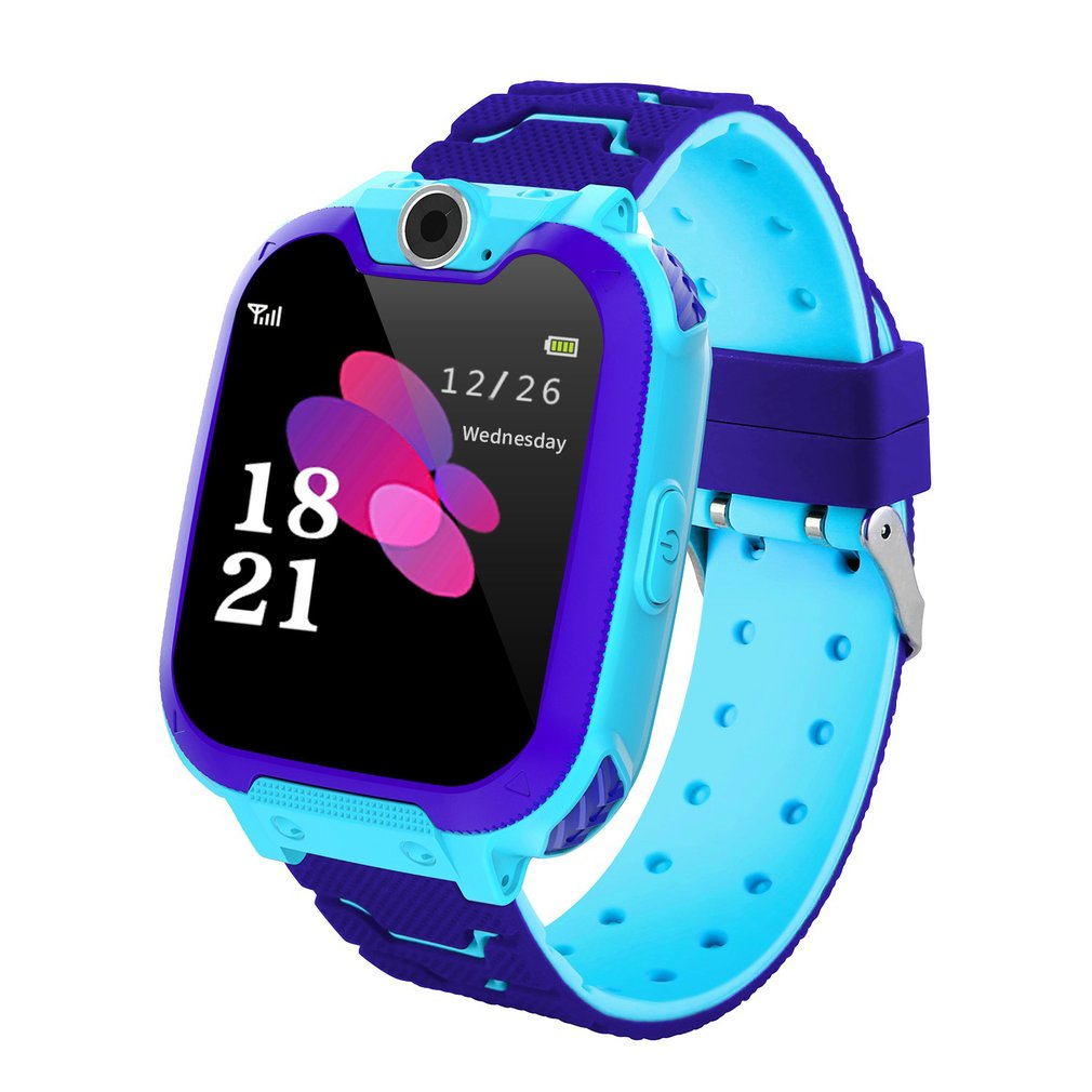 Location-Finder Camera Lighting Smart-Watch Baby Kids Children LBS Y46 Tracking Touch-Screen
