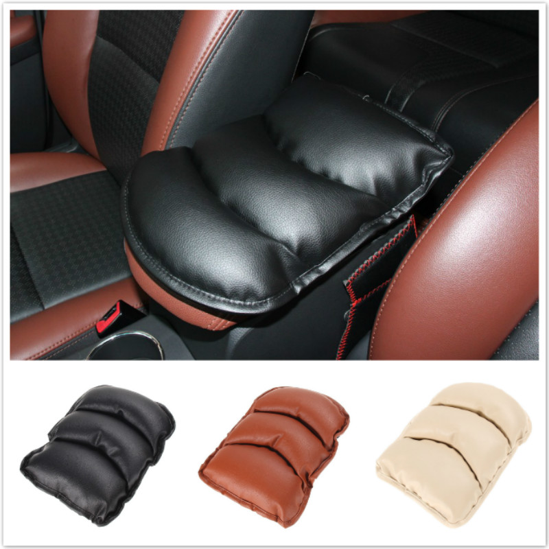 For Mercedes Benz W202 W220 W245 W124 W211 X204 W164 W203 W210 Car Stickers Armrest Pad Center Console Mats Cushion Accessories image