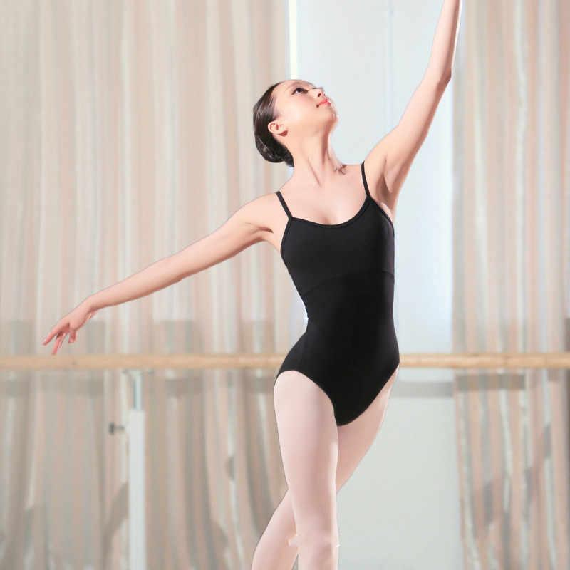 Kobiety Sexy czarny balet trykot dla dorosłych dziewczyny balet taniec trykoty Camisole kobiet praktyka gimnastyka strój kąpielowy Dancerwear 9