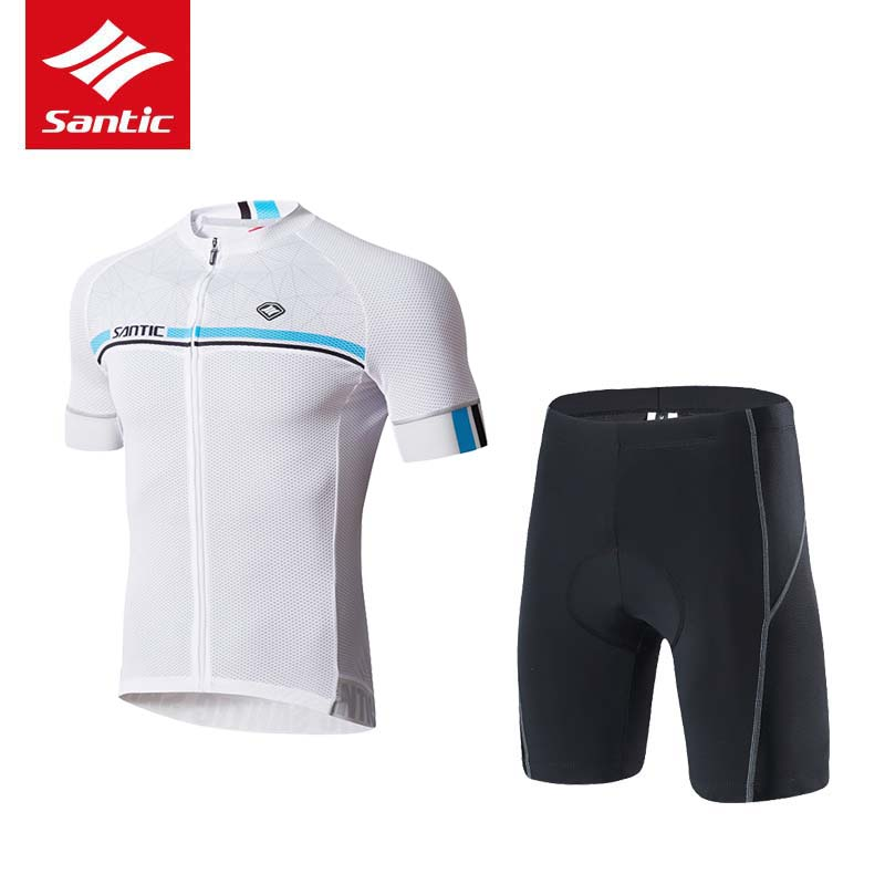 Santic Cycling Jersey Summer Quick Dry MTB Road Bike Bicycle Jersey Mesh Breathable ownhill Cycling Clothing Ropa Ciclismo S-3XL 2017 pro team fdj spring long sleeve cycling jerseys bicycle maillot breathable ropa ciclismo mtb quick dry bike clothing 3d gel