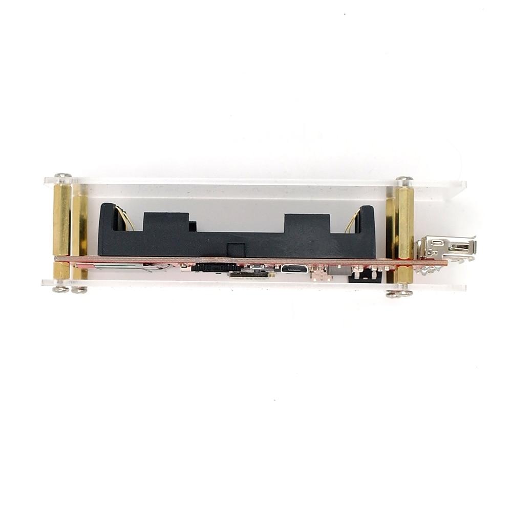 DSTIKE Deauther Monster V2 ESP8266 development board 18650 power bank 2 USB  port 5V 2 5A output WiFi Attack Hack arcylic case