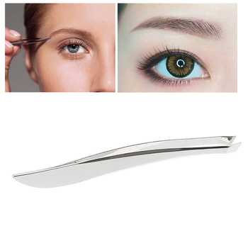 1 Pc Stainless Steel Anti-static Tweezers Watchmaker Epilation Eyebrow Tweezers Clip Nose Tweezers Eyebrow Beauty Makeup Tools