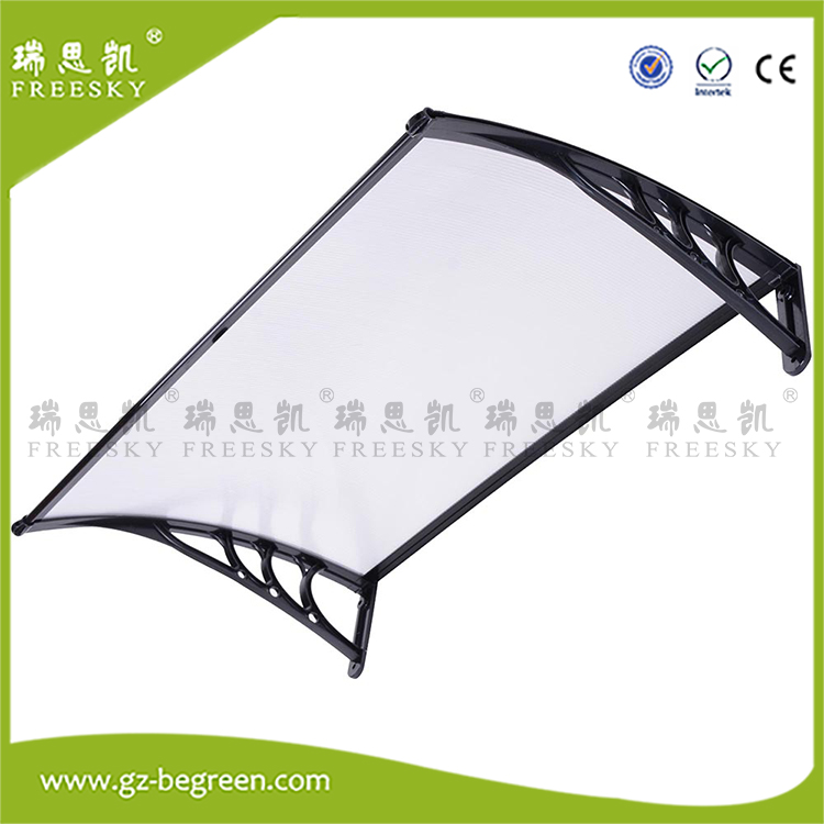 YP80100 80x100cm 80x200cm 80x300cm Porth Door Window Awning Canopy Sun Shade Shelter Outdoor Polycarbonate Rain Clear Cover zhuoao outdoor 3 4persons pergola canopy tent awning large outdoor rain uv shade with rain cover include one set front pole