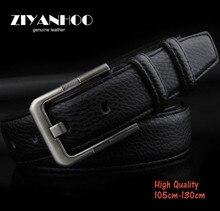 Los hombres de cuero genuino cinturón táctico cinturón con hebilla de la Aleación Marca de diseño para hombres de alta calidad casual de Negocios style1285058