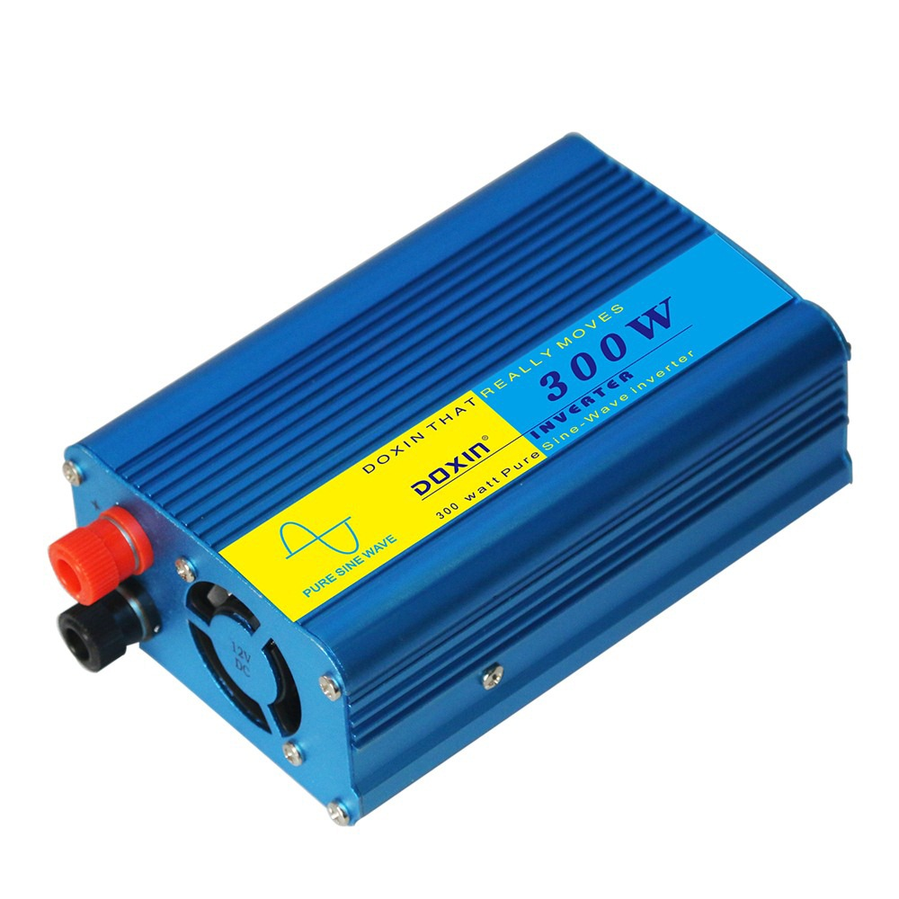 Inverseur de voiture DC 12 V 220 V 300 W Onde sinusoïdale Modifiée Universal Socket Power Inverter Convertisseur Adaptateur Voiture Onduleurs