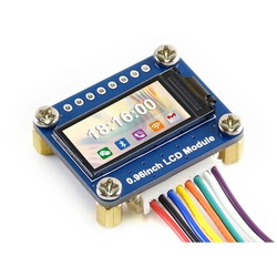 0.96 Inch Lcd Display Module, Ips Scherm, 160X80 Hd Resolutie, Spi Interface.
