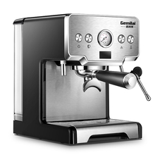 15 Bar Coffee Machine Stainless Steel Semi-automatic Coffee Machine Steam Foamed Milk Commercial Coffee Maker CRM3605 цена и фото