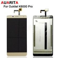 1 pcs LCD Top Qualité Pour Oukitel K6000 Pro Écran lcd + Écran Tactile digitizer capteur pour oukitel k6000 Pro lcd écran + Outils