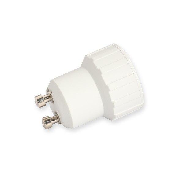Best Price GU10( Female Socket ) to E14( Male Plug ) Adapter Socket Base Halogen CFL Light Bulb Lamp Adapter Converter Holder