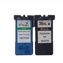 2PK 36xl 37xl Ink Cartridge For Lexmark 36XL 37XL X3650 X4650 X5650 X6650 X6675 Z2420 Z2400 Z2410 X3630 X4630