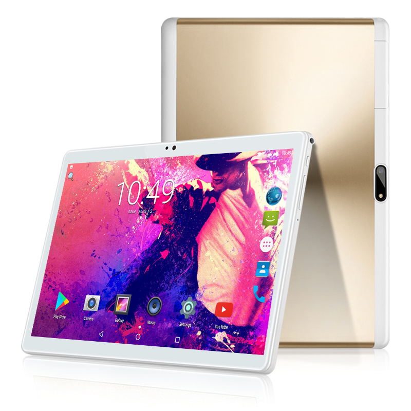 2.5D IPS Screen 10 Inch Android Tablet PC MTK6580 Quad Core 2GB RAM 32GB ROM WIFI GPS Dual SIM Card 3G WCDMA Phone Call Phablet thl t200 octa core android 4 2 wcdma bar phone w 6 ips wi fi gps ram 2gb and rom 32gb white