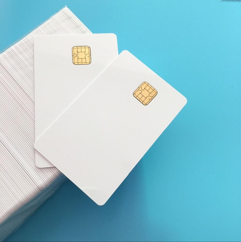 J2A040 40k EEPROM With 2 Track Sliver Hi CO Magstripe Compatible JCOP21 36K Java JCOP Based Smart Card 5PCS