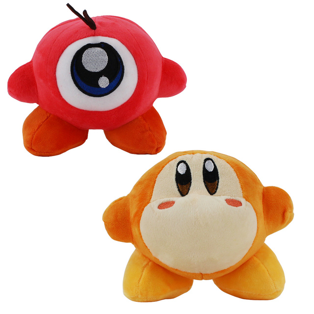 13cm Kirby Plush Toys Waddle Dee Waddle Doo Standing Pose ... Waddle Dee And Waddle Doo