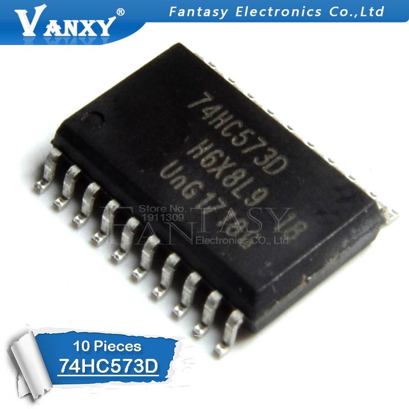 10PCS 74HC573D SOP20 74HC573 SOP SN74HC573DWR SMD New And Original IC
