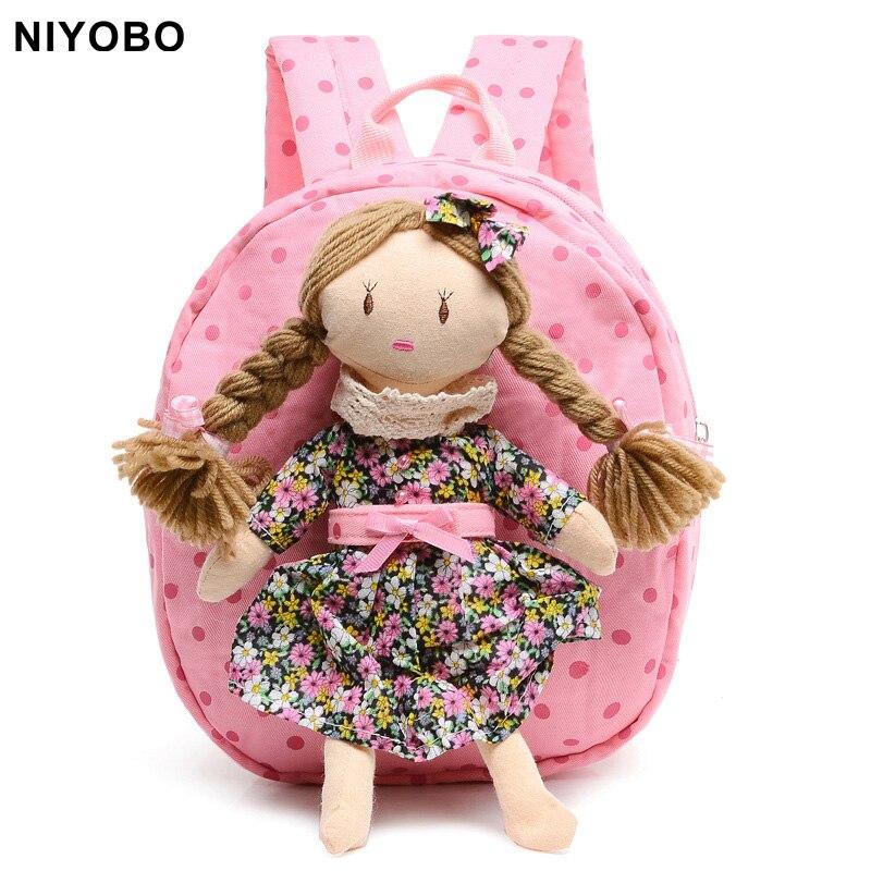 cartoon kids mochila infantil backpack cute children kindergarten baby girls school bag student book bag