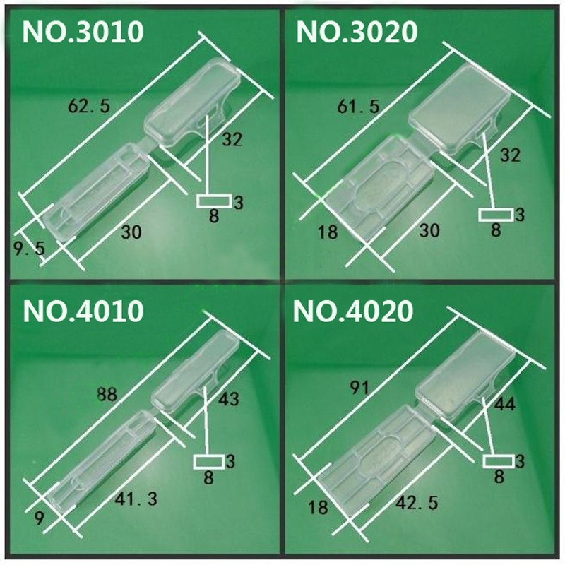 200 teile/los kabel tag Wasserdicht transparenten kabelbinder Draht ...