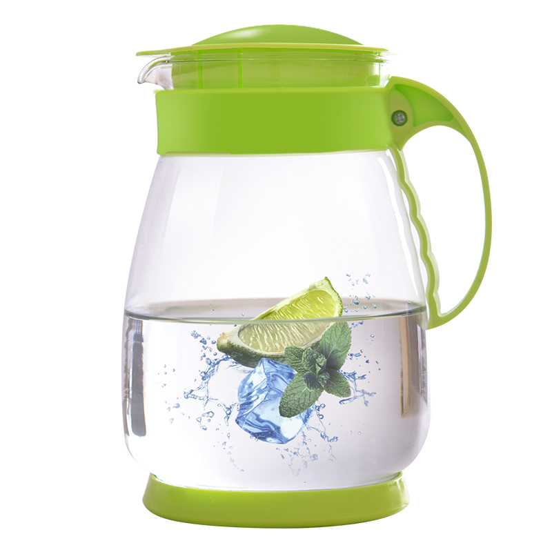 1500ML Summer glass teapot home high temperature cold water bottle large capacity cold kettle heat explosion cold water bottle