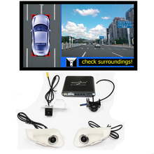 360 Degree bird View Car DVR Record with parking Monitor System, All round rear View Camera for LEXUS RX ES 2013