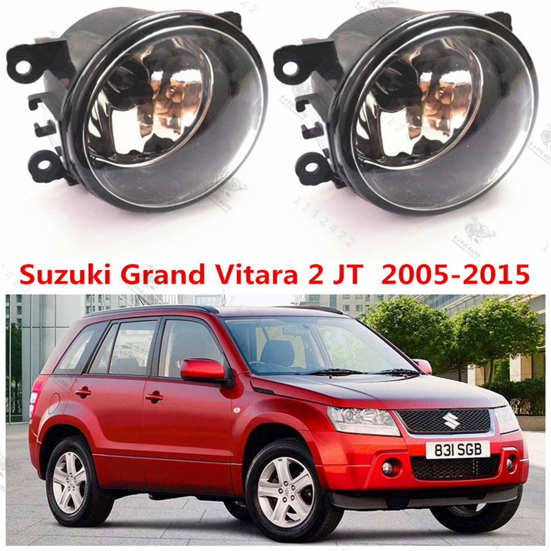 For Suzuki GRAND VITARA 2  2005-2015  Front Fog Lights Fog Lamps Halogen Car Styling  35500-63J02