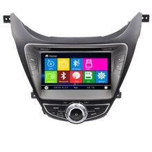 Free shipping Car DVD GPS Navigation stereo for Hyundai Elantra Avante I35 2011 2012 2013 with bluetooth Radio DVD player