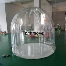 2 м Диаметр надувные сад палатка, события открытый прозрачный надувной yerd палатки, выставки и события палатки