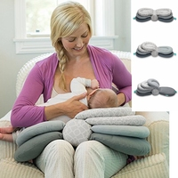 Smart Baby Breastfeeding Nursing Pillow Newborn Head Protection Pad Adjustable Mother Breast Feeding Cradle Boppy Pillow for Mom