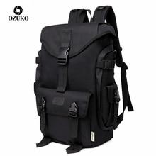OZUKO marka moda duża pojemność Oxford mężczyźni plecak 2019 nowy tornister mężczyzna podróży plecaki 15.6 cal torby na Laptop chłopiec Mochila