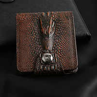 PU Leather Classic Gift Wear Resistant Exquisite Multi Pocket Purse Men Wallet Practical Card Holder Magnetic Buckle Bifold
