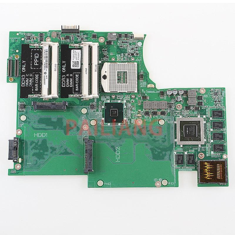 PAILIANG Laptop motherboard for DELL XPS 17 L701X PC Mainboard 3D 4 RAM Slot 053JR7 DAGM7BMBAF0 full tesed DDR3 pailiang laptop motherboard for dell xps l702x pc mainboard 0p4n30 dagm7mb1ae0 hm67 full tesed ddr3