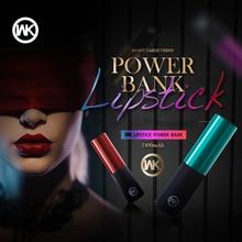 WK Cute Mini Power Bank Powerbank Portable Charger Cargador Portatil f