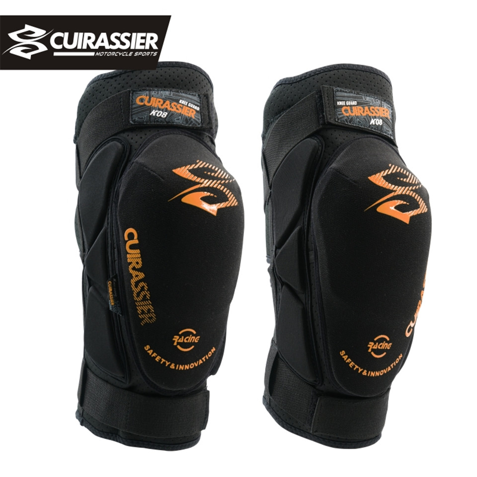Cuirassier Motorcycle Knee Pads Motocross MX Protection Knee Protectors Shin Guards protective Gears Skating Racing Riding