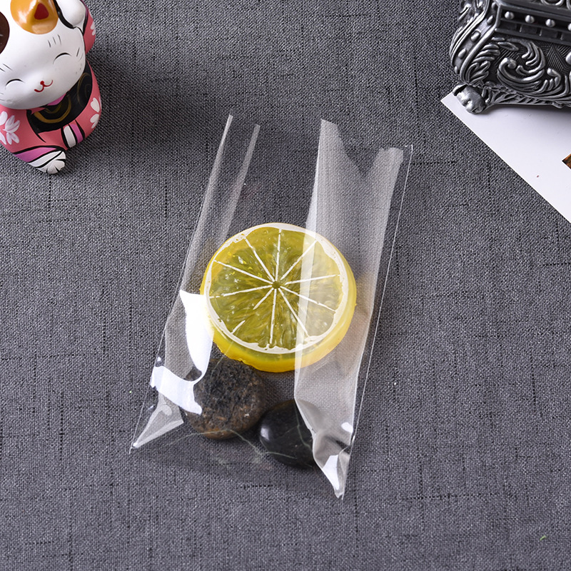 100pcs 3 Sizes Transparent Opening Opp Plastic Pouch Sachet Gift Bag For Jewelry Wedding Party Beads Packing Wholesale Supply