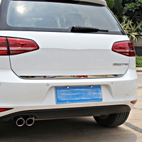 car styling car accessories for volkswagen golf 7 mk7 rear moulding cover stainless steel back door trim strip car sticker