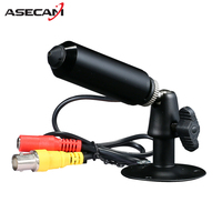 Hot Sony 960H CCD Effio 1200TVL Video Surveillance Small Metal Black Bullet Mini Security Camera CCTV