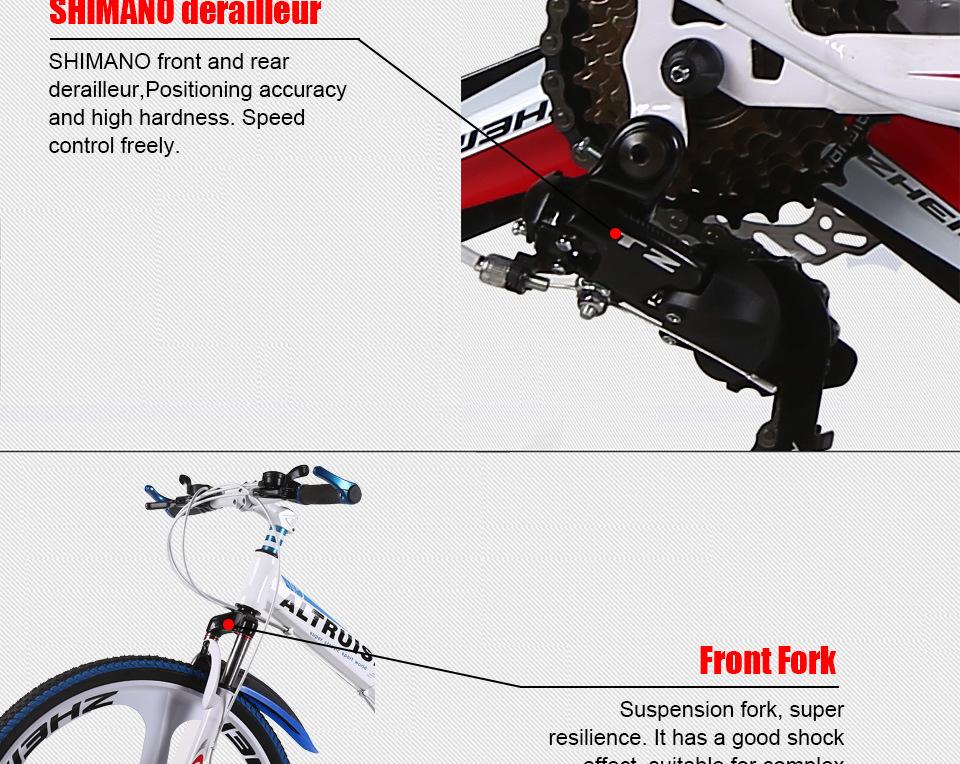 X6 Mountain Bike 24 Speed 26 Inch Men Women