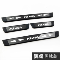 High quality stainless steel Plate Door Sill Welcome Pedal Car Styling Accessories for Ford KUGA 2018