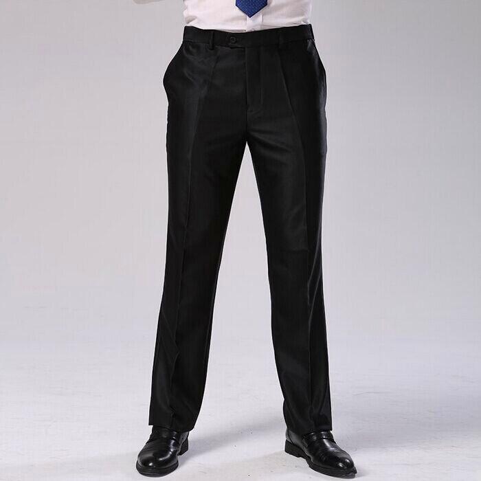 Мужские брюки, два цвета, Формальное деловое платье, брюки больших размеров, облегающие брендовые Дизайнерские Длинные обтягивающие брюки, CBJ-F1317 - Цвет: shinny black