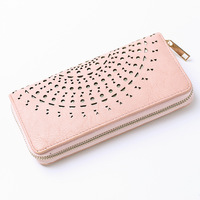 2016 Factory Direct Hot Sale New Preppy Style Purse Laser Bright Korean Leisure Girl Hollow Out