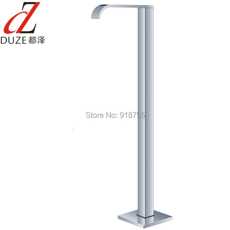 Free Shipping Wholesale And Retail Fashion Design Chrome Bathroom Tub Mixer Faucet Floor Standing Bathtub Mixer Tap 51009-780 europe and the united states popular bar chairs wholesale and retail australian fashion coffee stool free shipping