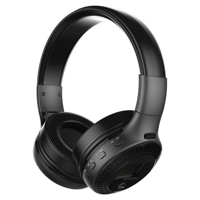 Хорошее качество Оригинала Фанатик B19 СВЕТОДИОДНЫЙ экран Стерео Гарнитура Bluetooth наушники Оголовье Гарнитуры с FM TF для mp3-плеер