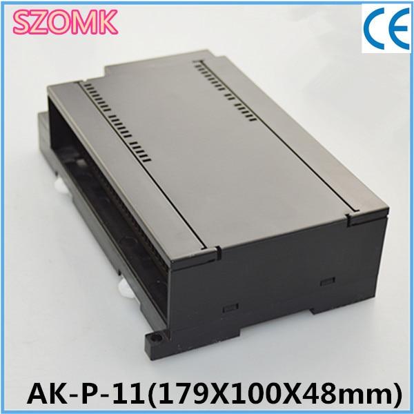 1 piece China Newest plc plastic terminal block box for siemens plc s7-200 179*100*48 mm plc srt2 od04