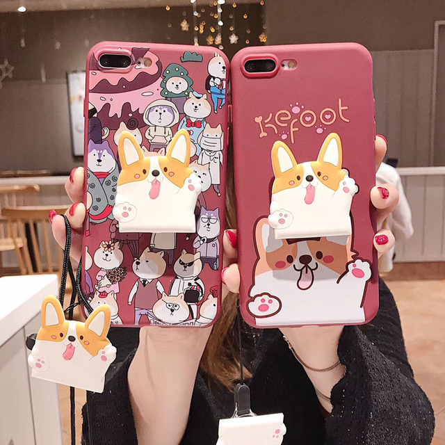 Carton Case for OPPO A3S A1 F5 F7 A59 F1S R15 Pro R17 F3 Plus F1 Plus R9S Plus Back Cover Soft with Stand +Strap