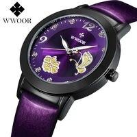 ผู้หญิงแบรนด์ชั้นนำนาฬิกาแฟชั่นควอตซ์-นาฬิกาหนังแท้m ontre f emmeลำลองชุดนาฬิกาสุภาพสตรีข้อมือส...